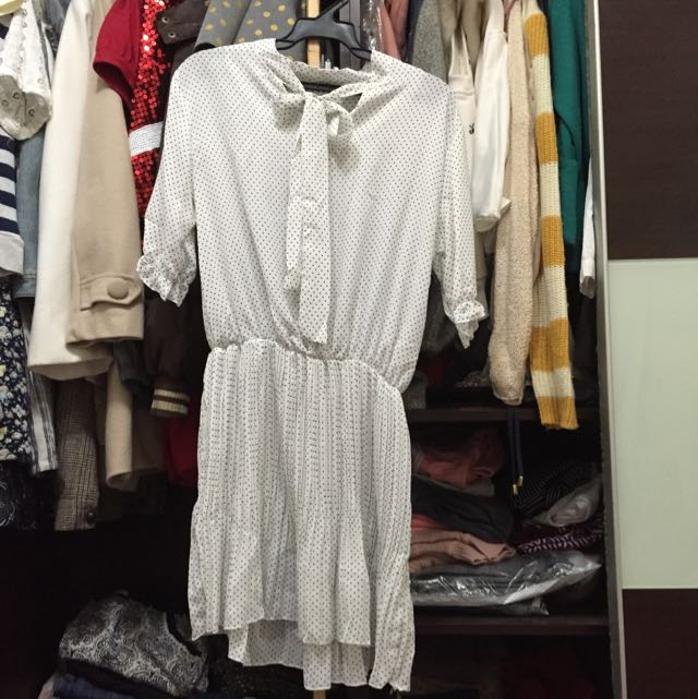 氣貭雪紡連衣裙