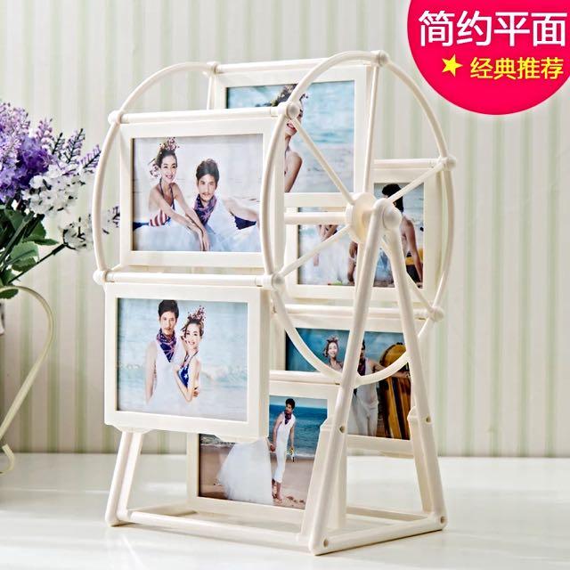 平面款 5吋摩天輪相框/會場佈置/情人節生日禮物 可面交
