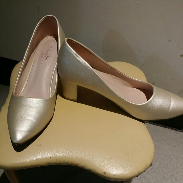 高跟鞋 大尺碼女鞋 41號 謝師伴娘婚禮 #五百元好女鞋