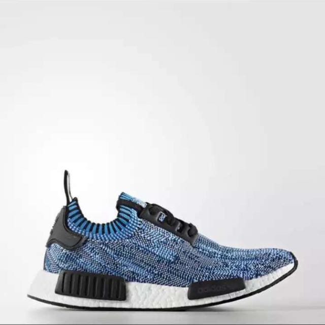 0d88aa3a4 Adidas NMD Clear Blue Primeknit