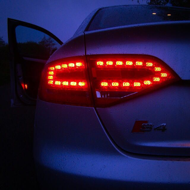 Audi A4 B8 Rear Led Tail Lights Car Accessories On Carousell