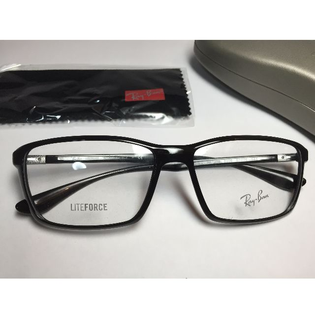 5a9252b3909 ... hot authentic rayban rb7018 5206 5716 145 liteforce frames brand new  mens fashion on carousell d9bbd
