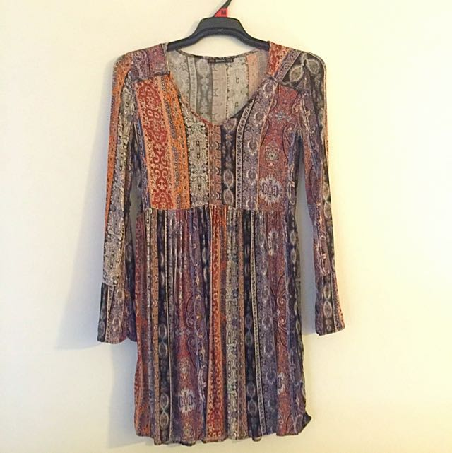 Bershka Bohemian Dress