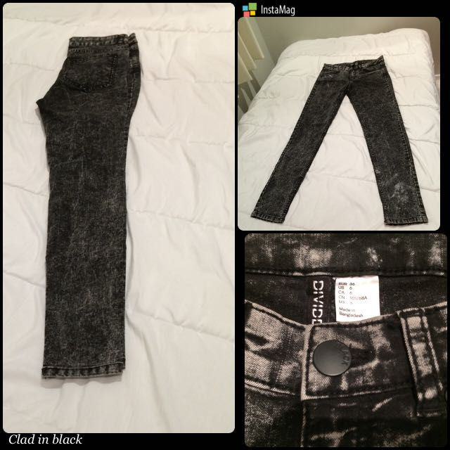 Black Jegging Divided by H&M US Size 6
