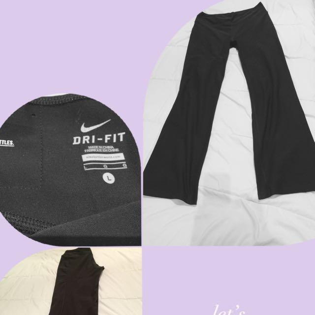 Black Sport Pant Nike Size L