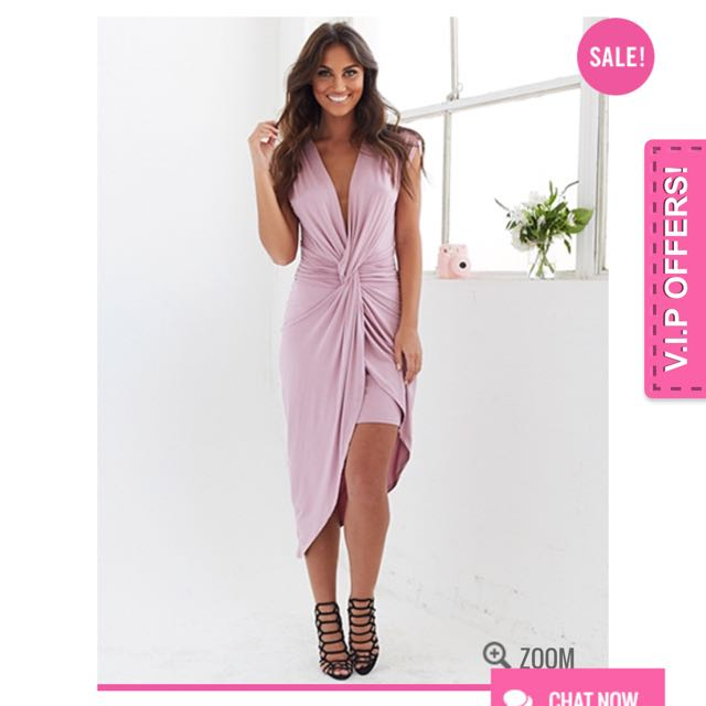 Blushin Midi Dress