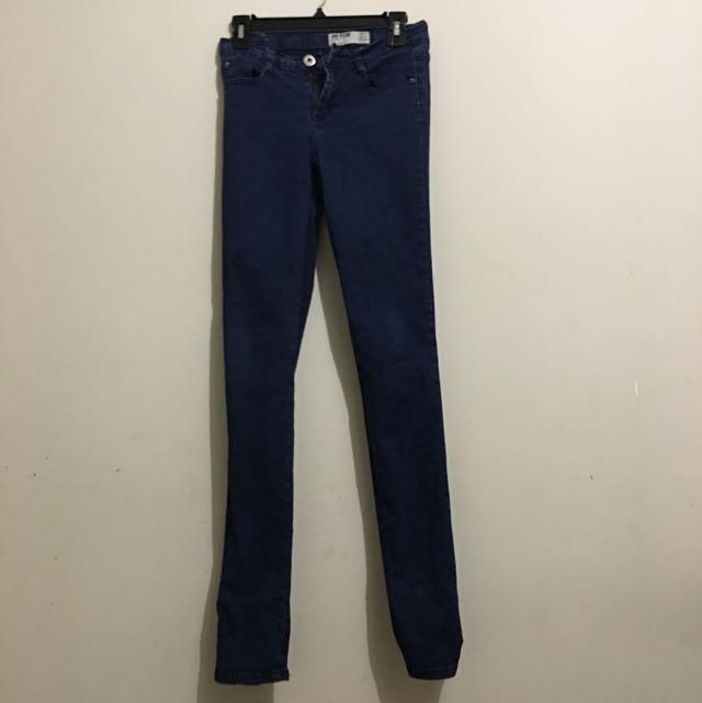Cotyon On Blue Denim Skinny Jeans