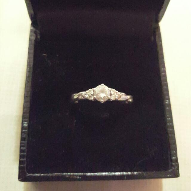 Diamond Silver Ring.