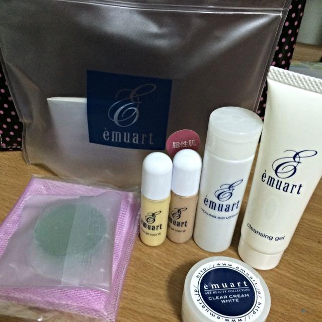 日本emurt 保養隔離霜旅行組