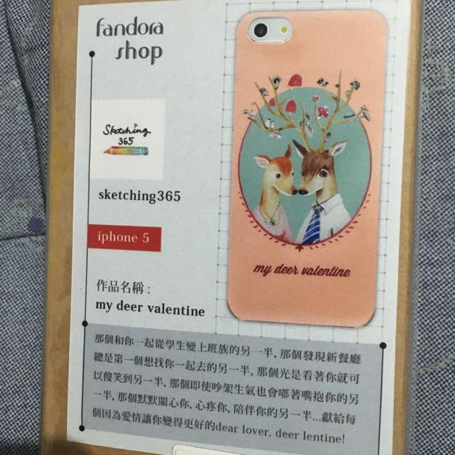 I5 Iphone文青風手機硬殼