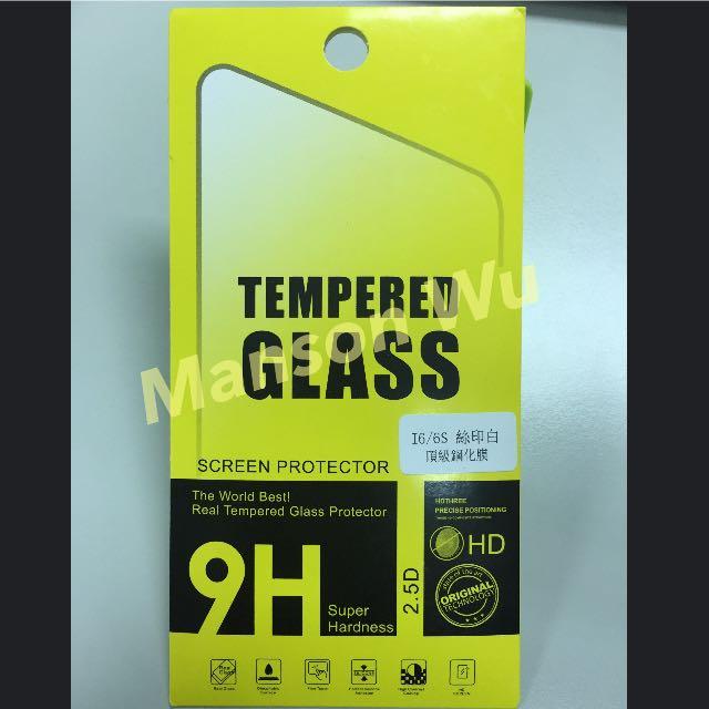 I6/6S 頂級鋼化膜(玻璃膜)