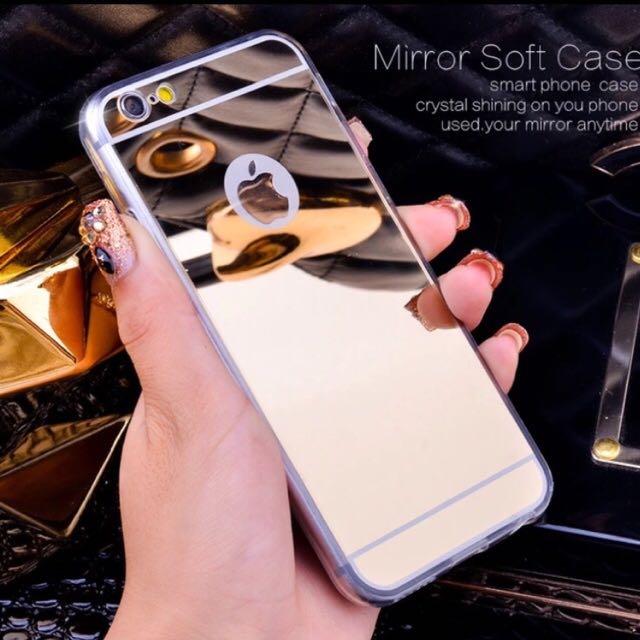 Luxury Mirror iPhone Silicon Case