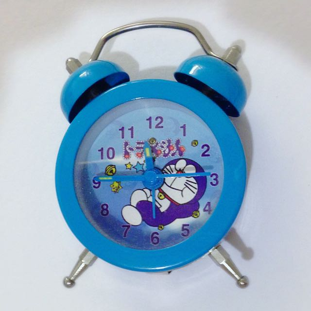 Miniature Doraemon Alarm Clock (Battery Excluded)