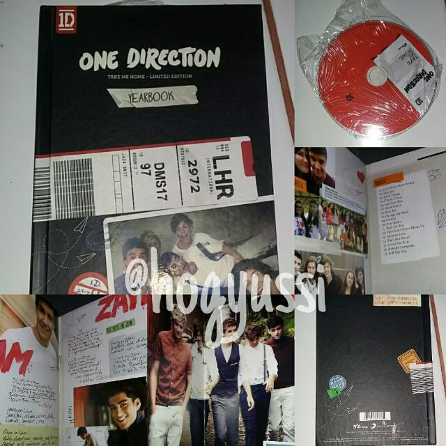 One Direction - Take Me Home Album Yearbook Edition, Music