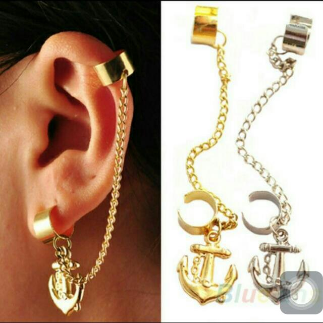 (PRICE REDUCED) BNIP INSTOCK ⚓anchor Earcuffs