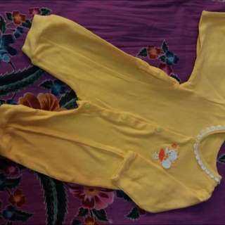 Baby Girl Jumper Yellow 3-6 Bln