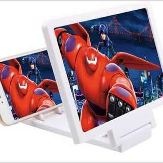 手機視屏放大護眼架(黑、白)2色