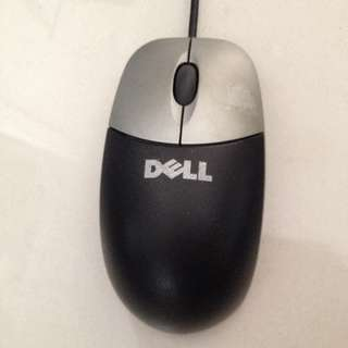 RTP: $40 😱 DELL USB Optical Mouse Silver/Black