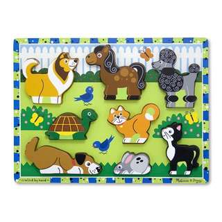 BN Melissa And Doug Chunky Pet Puzzle