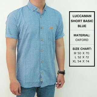 Luccaman Short Basic Blue