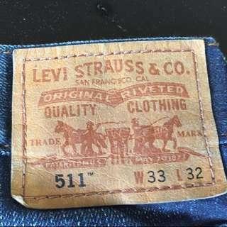Levi's Levis 511 33x32