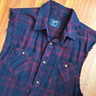 Rodger David Stray Sleeveless Shirt