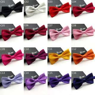 Bow Ties 48 Colors