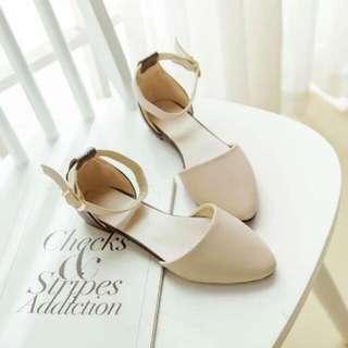 浪漫甜美的尖頭鞋 芭蕾舞鞋 涼鞋 包鞋