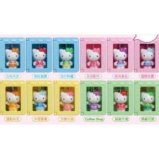 7-11 Hello Kitty☆夢幻百貨公司公仔☆大全套12+2特別款 免運費!!!