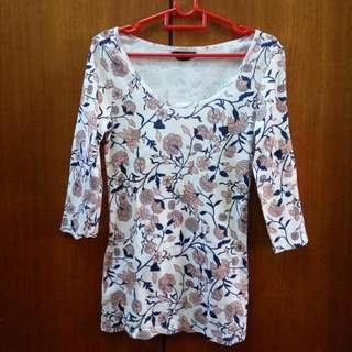 Dorothy Perkins Scoop Neck T-Shirt Top