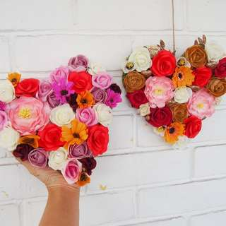 Handmade Floral Letter