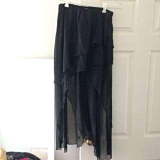 Layered Maxi Skirt, Size 10