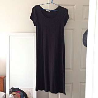 Tshirt Style Maxi Dress, Size 12
