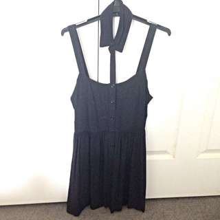 Something Else Dress With Detachable Collar, Size 10