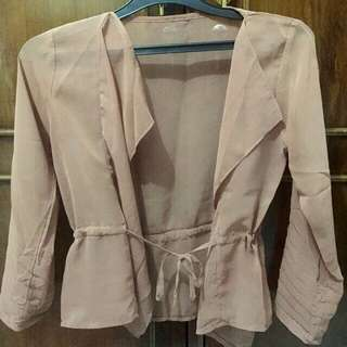 Preloved Cardigan Chiffon