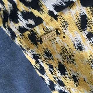 HALF PRICE!!! $5!!Genuine Guess Strapless Leopard Print Dress