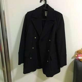 100% Brand New Zara Black Coat