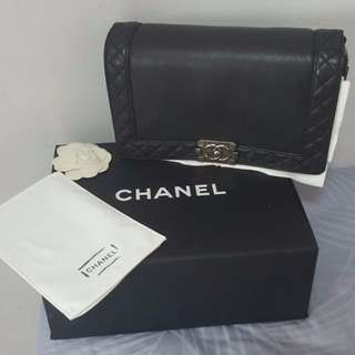 Chanel Quilted Boy Flap Bag in Medium