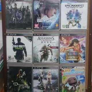 【降價】PS3遊戲片出清
