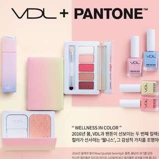 韓國VDL 第2彈pantone聯名彩妝 預購