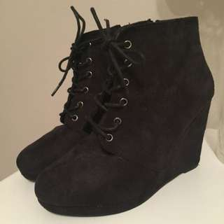 Rubi Shoes Wedge Booties