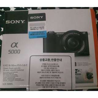 (Reserved)SONY Alpha a5000 Mirrorless Camera *Brand New*