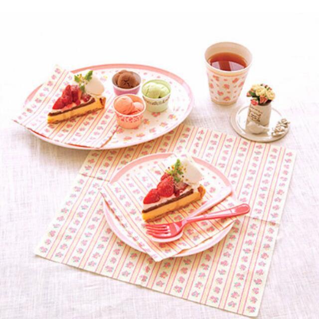 粉紅野餐盤