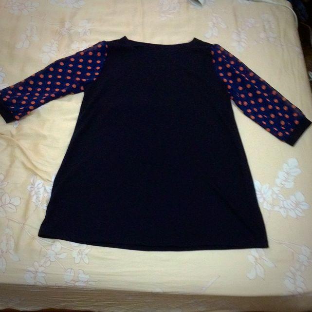 長版上衣(深藍)