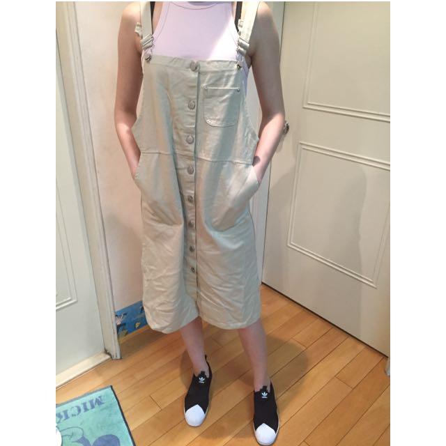 韓-吊帶裙