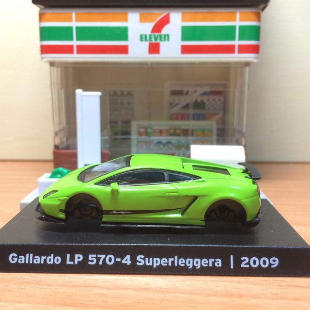 藍寶堅尼 711經典模型 車 2009 Gallardo