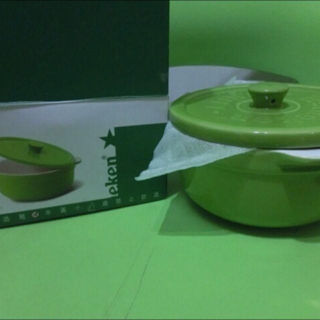 海尼根 小陶瓷鍋