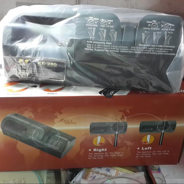 耐瑞營業用電動磨刀機- KE-280