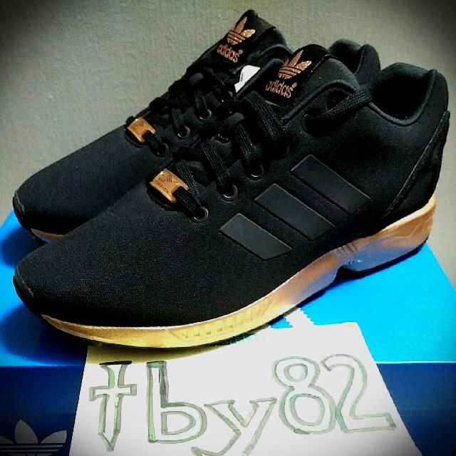 best service 677c5 dccb9 Adidas ZX Flux Metallic Copper Rose Gold Limited Edition, Men s Fashion on  Carousell