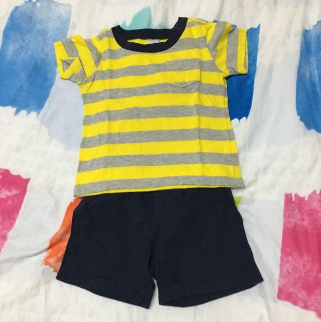 carter's嬰兒短袖套裝 18M